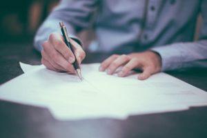 Unterschrift fälschen und die Folgen